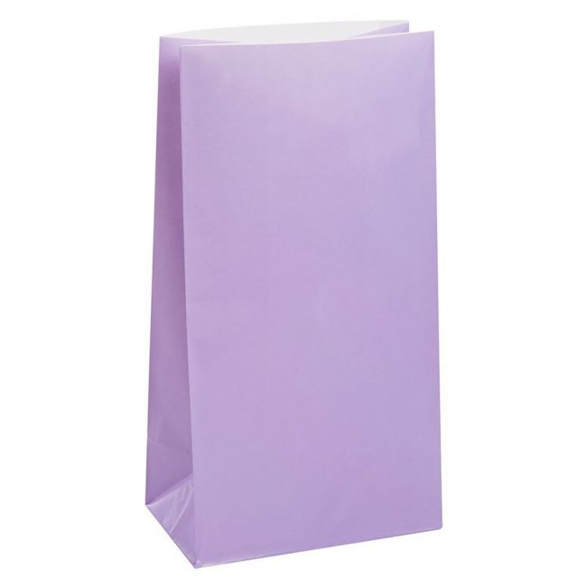 Unique - Party Bags Pack of 12 - Lavender