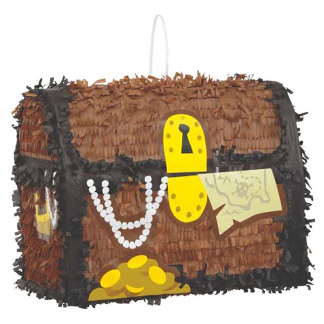 Unique - Pirate Treasure Chest 3D Pinata