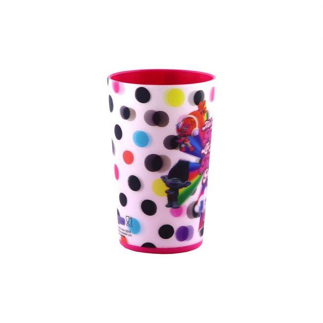 Universal - Trolls 3D Lenticular Drink Cups /Tumbler 300Ml