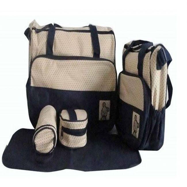Bebecom - Diaper Bag - Navy