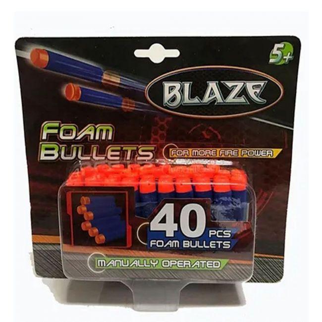 Blaze - 40 Pcs Foam Bullets For More Firepower