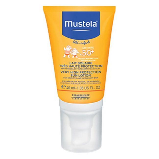 Mustela - Sun Lotion SPF 50+ Face - 40ml