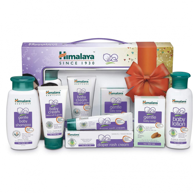 Himalaya - Happy Baby Gift Pack 5 In 1 Large