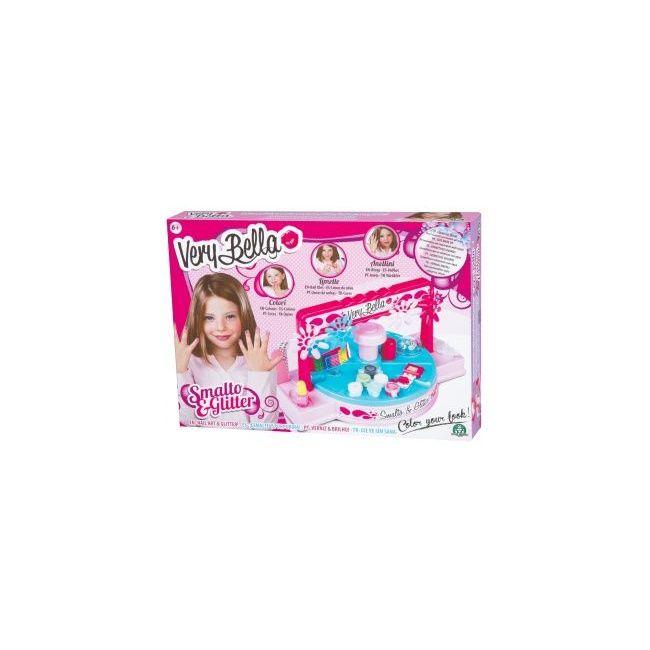 Very Bella - Play Set Smalto E Glitter Nail Art Play Set