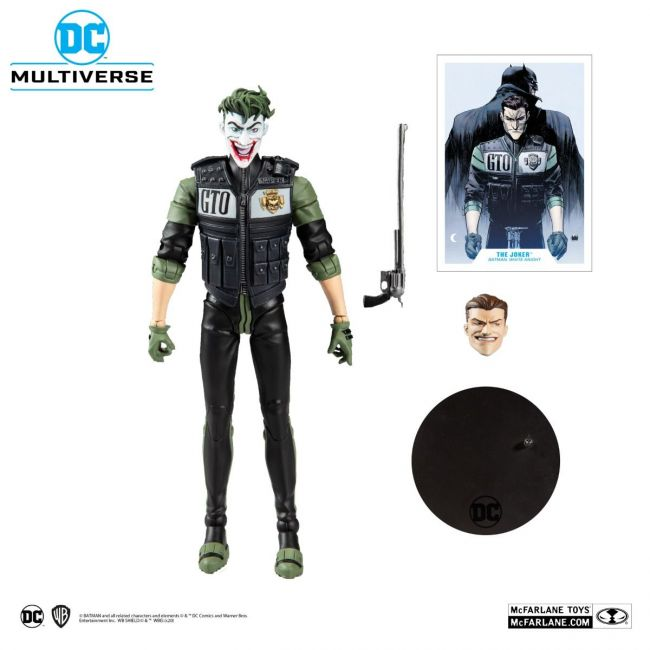 DC Comics - McFarlane Toys - The Joker: Batman White Knight #8 (Comics 2017)