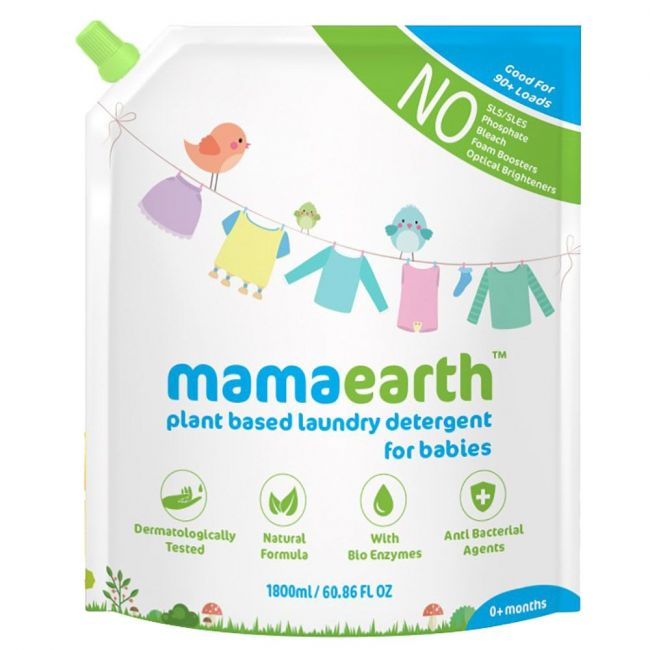 Mama Earth - Plant Based Laundry Detergent 1.8 L