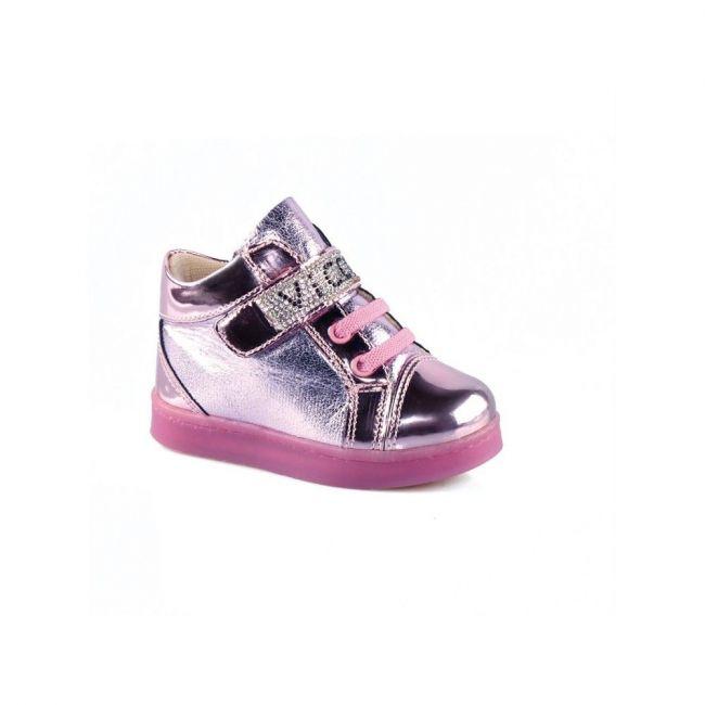 Vicco 221.V.151 Girl Light up Shoes - Pink
