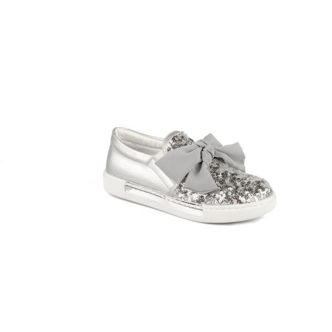 Vicco 970.19Y.376 Girl Junior Sports Shoes - Silver