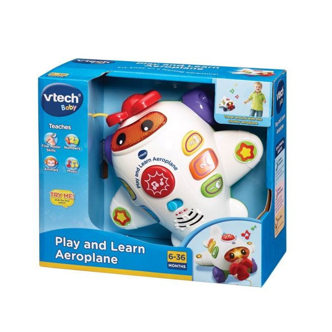 Vtech - Play And Learn Aeroplane
