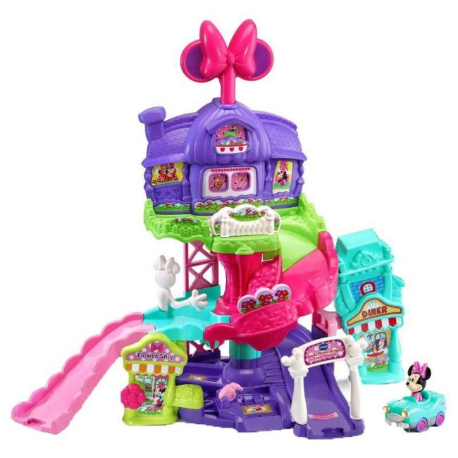 Vtech - Toot Toot Drivers R Minnie Mouse Play Set Vtus