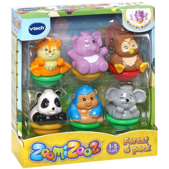Vtech - Zoomizooz Forest Pack Of 6
