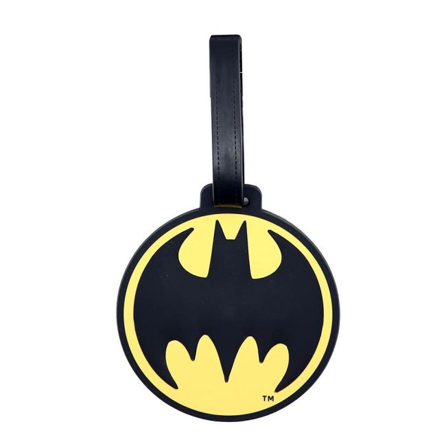 Warner bros - Batman Soft Pvc Character Luggage/Suitcase/Backpack Tags