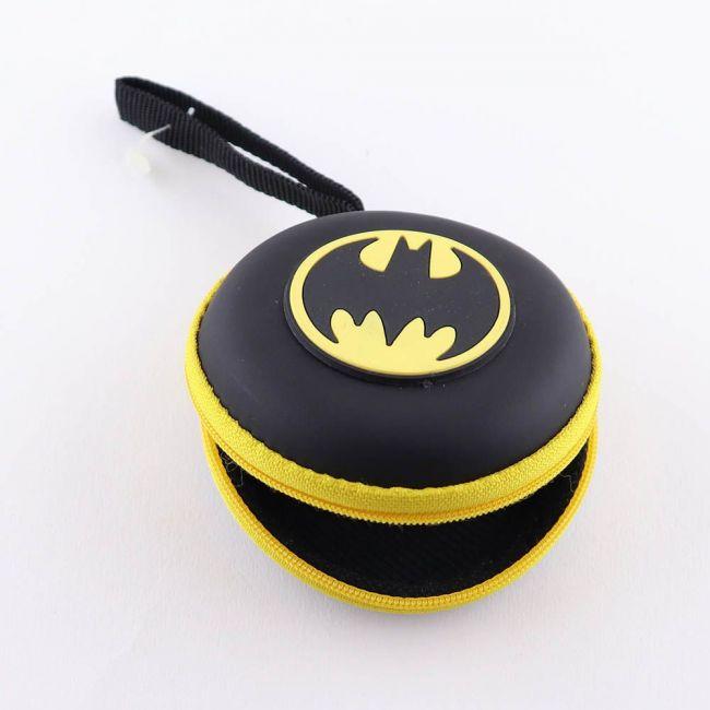 Warner bros - Dc Batman Eva Earphone/Coin Pouch For Kids