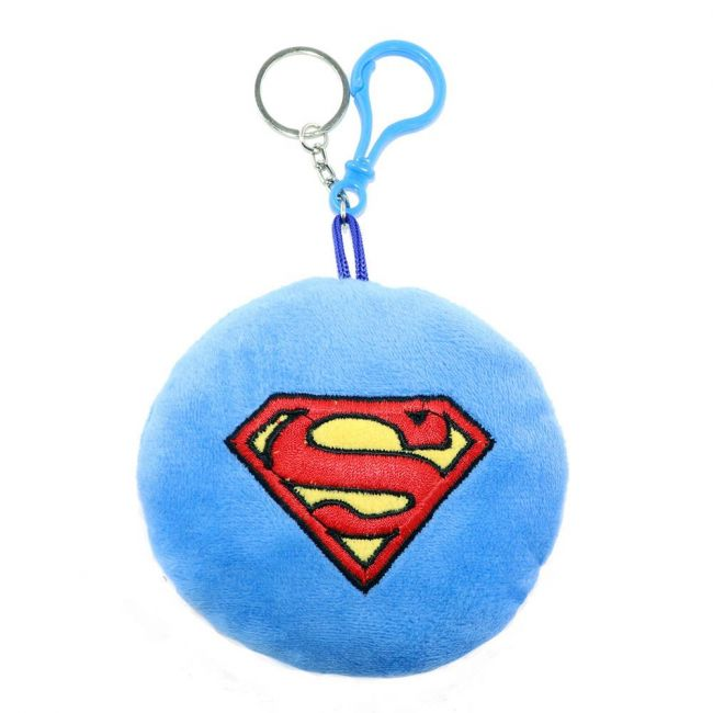 Warner bros - Dc Superman Toy Key Chain With Embroidery
