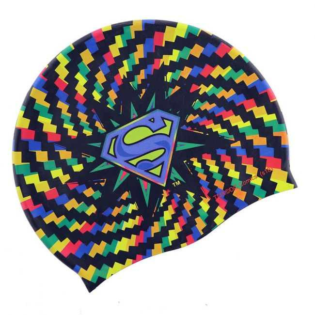 Warner bros - Superman Kids Silicone Swim Cap