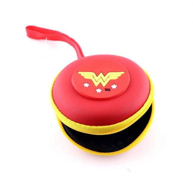 Warner bros - Wonder Woman Eva Earphone/Coin Pouch For Girls