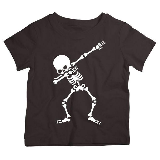 Twinkle Hands - Dancing Skeleton - Halloween T-shirt - Black