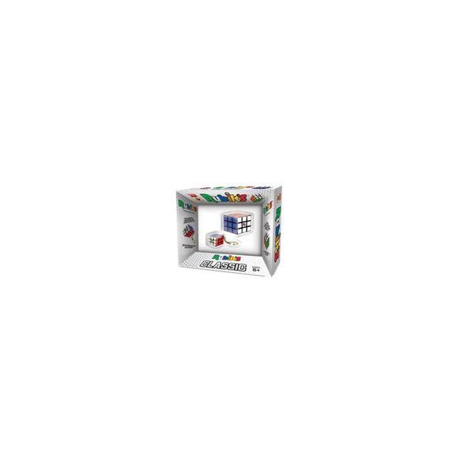 Rubiks Classic New 3X3 Plus 3X3 keychain