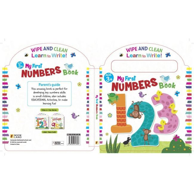 Wipe And Clean My First Numbers Activity Book