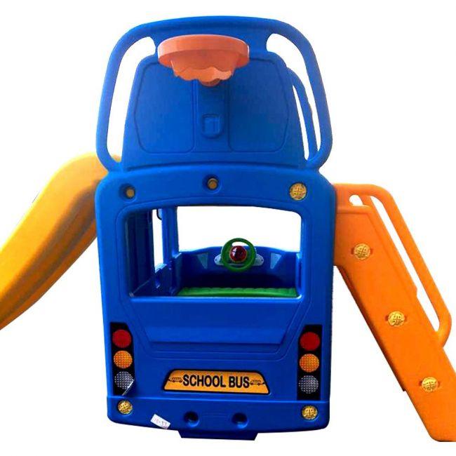 Megastar - Tayo The Little Bus 3-In-1 Slide Play Set - Blue