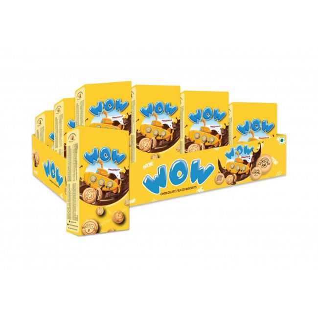 Mayfair - WOW Chocolate Centre Filled Biscuits Tray - Pack of 24 Pcs - Buy 2 Get 1 Free