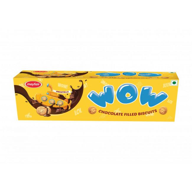 Mayfair - WOW Chocolate Filled Family Pack - 96 Biscuits - 74.8gms - Buy 2 Get 1 Free