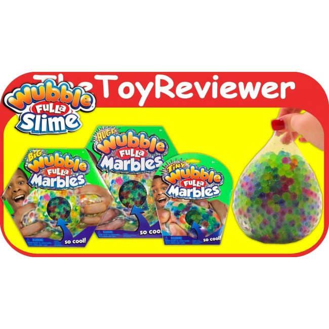 Wubble Bubbles - Tiny Wubble New Pacakging 2 Red 4 Blue 2 Green 4 Pink