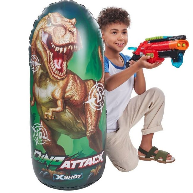 X-Shot - Dino Attack Inflatable Dino Target