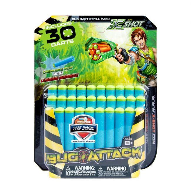 X Shot - Bug Attack 30 Pk Refil Darts