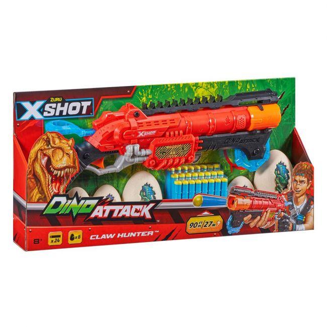 X Shot - Dino Attack-Eliminator(2Medium Egg,4Small Egg,24Darts)