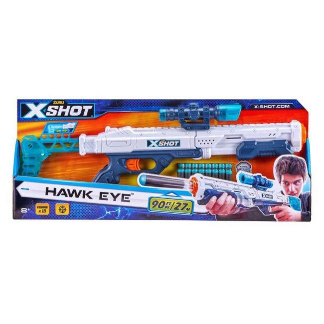 X Shot - Excel-Hawk Eye (16Darts)