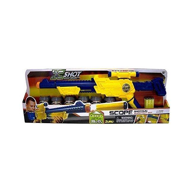 X Shot - Excel Scope Sr 6 Cans 6 Darts