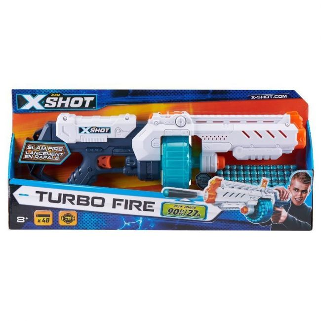 X Shot - Excel Turbo Fire 48 Darts