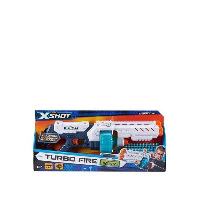 X Shot - Excel Turbo Fire Sr 20 Darts