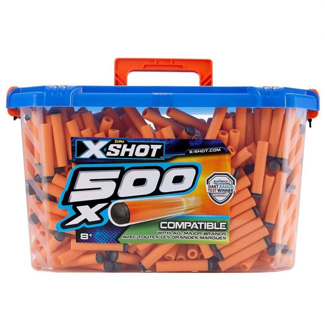 X Shot - Excel Ultimate Value 500 Darts Refill Carry Case