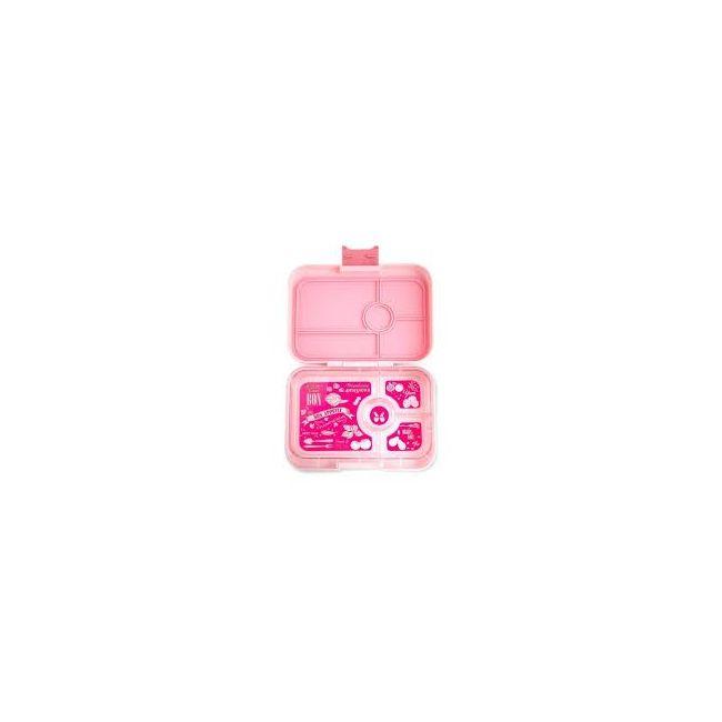 Yumbox Amalfi Pink Tapas 4 compartments Bento Lunch box