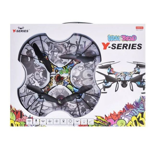 Y-Series - New Trend Graffiti Drone With One Key Stunt And Speed Control