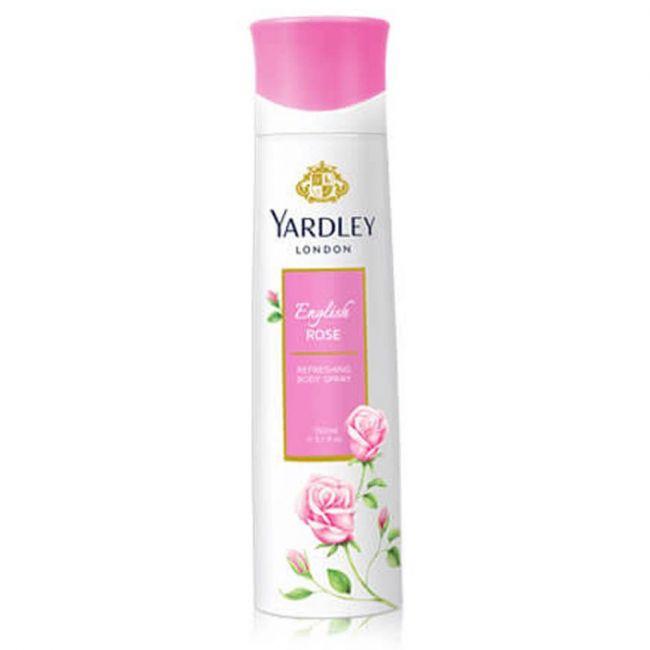 Yardley - English Rose Body Spray - 200g