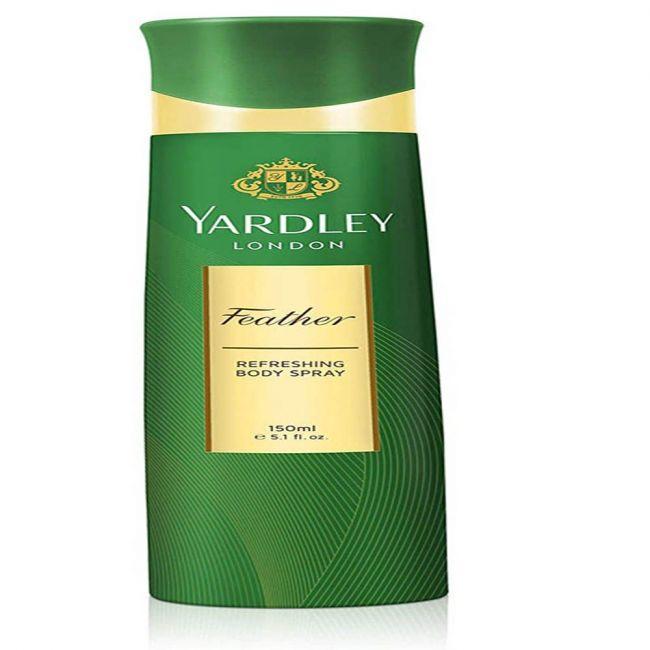 Yardley - Feather Body Spray - 150 Gms