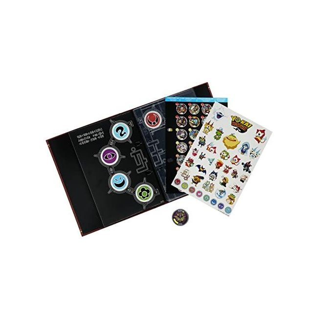 Yokai Watch - Collector Book With 1 Medal