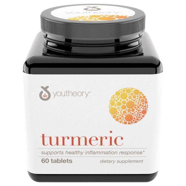Youtheory - Turmeric 1000mg 60 Capsules
