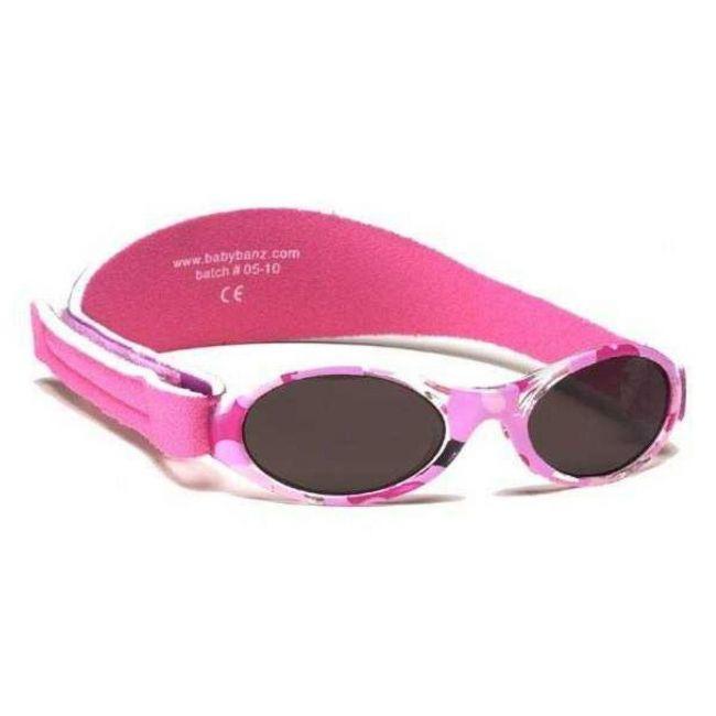 Baby Banz Adventure Sunglasses - Pink Camo
