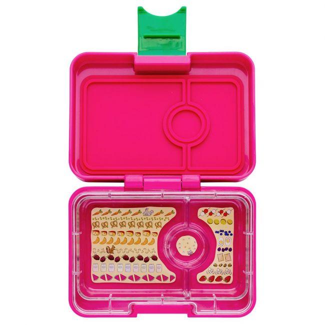 Yumbox - Cherie Pink Mini Snack 3 Comp