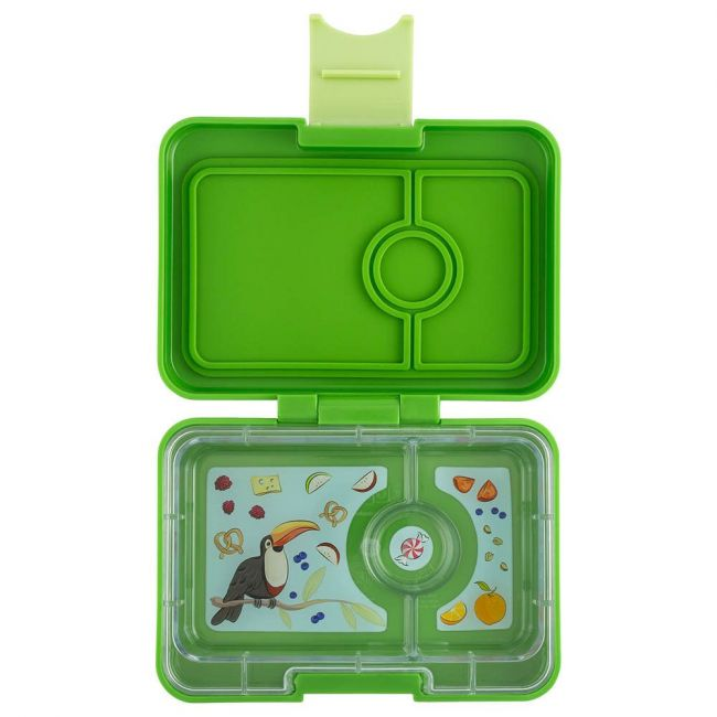 Yumbox - Cilantro Green Minisnack 3 Comp