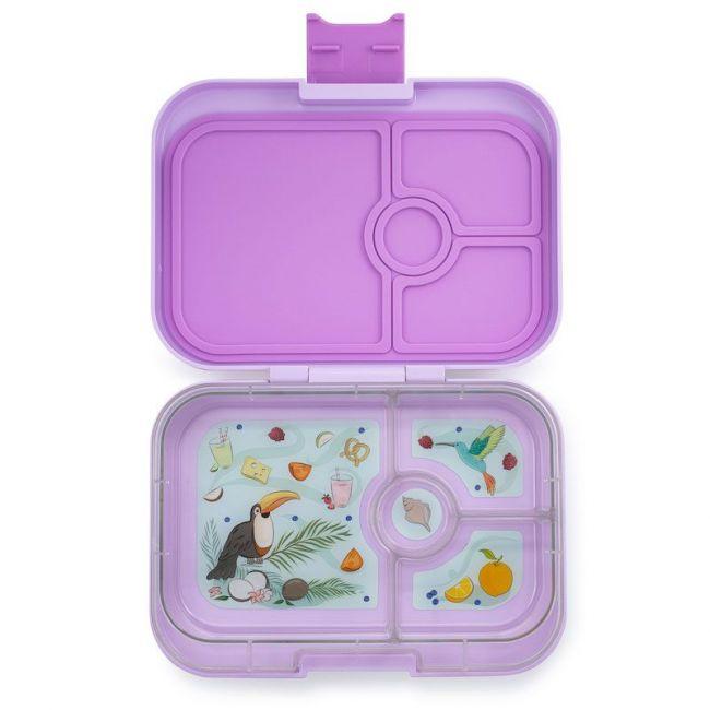 Yumbox - Lila Purple 4 Compartments