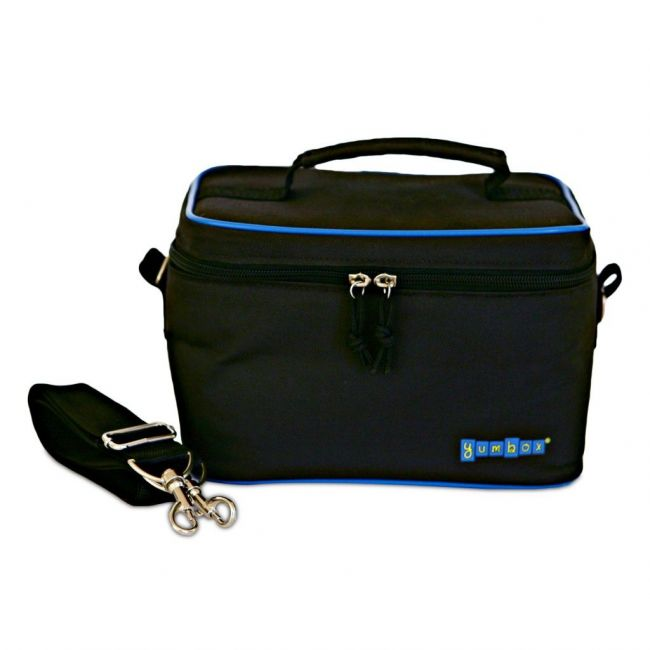 Yumbox Insulated Cosmos Black Small Cooler Bag