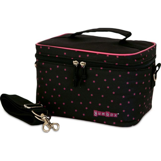 Yumbox Insulated Etoiles Black Small Cooler Bag