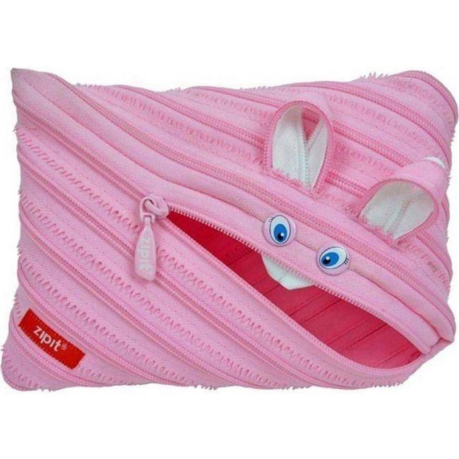 Zipit Animals Jumbo Pouch Pink