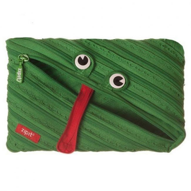 Zipit Animals Jumbo Pouch Clip String