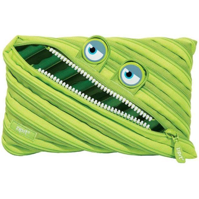 Zipit - Gorge Big Pencil Case, Green, Jumbo Pencil Case